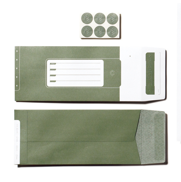theCOUNTERcorps Identity System #army #stationery #identity #green