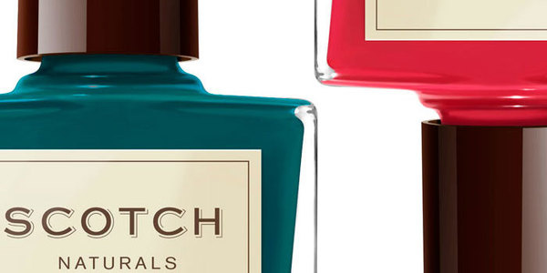 Scotch NaturalsThe Dieline #packaging #typography