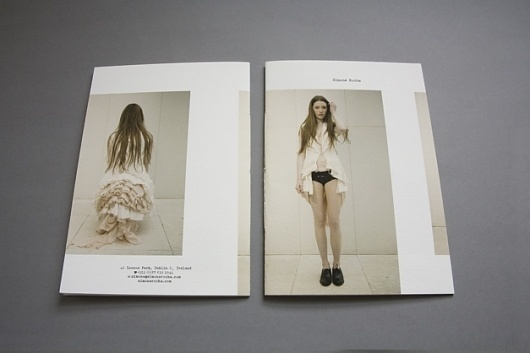 Simone Rocha | Conor Cronin #design #editorial #brochure