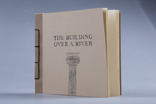 Building Poetics by Nicolo Arena #binding #lettering #pop #design #japanese #book #illustration #building #drawn #up #river #hand #story