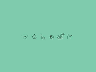 Company benefit icons #career #icons