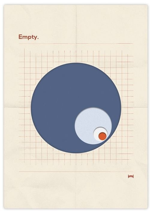 Empty #circle #vector #red #print #feeling #grid #blue #paper