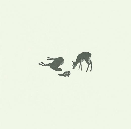 Moritz Resl #deer #moritz #resl #design #graphic #illustration #art