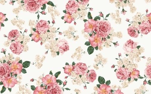 coqueterías #pink #pattern #floral