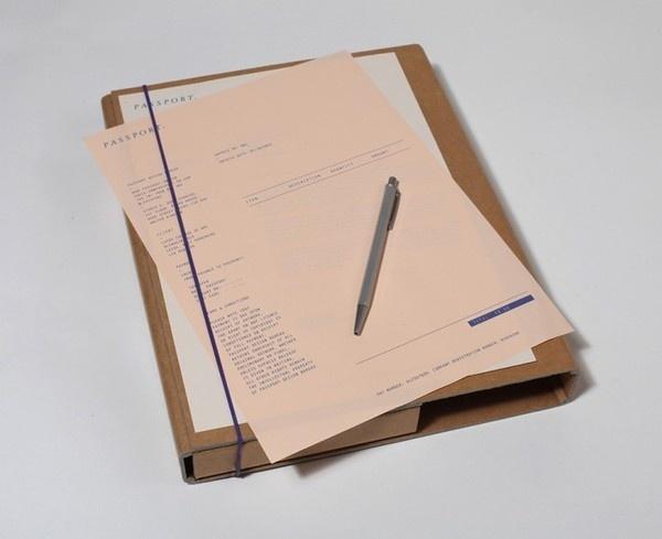 Curator : Passport 02 #identity