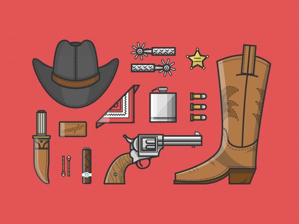 Cowboy Up #illustration