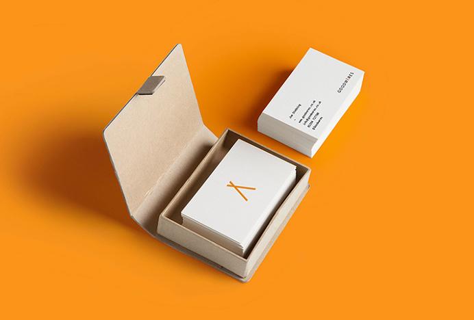 Goodwares by Nine Sixty #logo #logotype #mark #symbol #business card