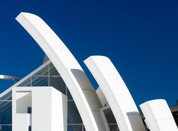 Jubilee Church Richard Meier #minimalist #architecture #minimal #white