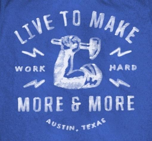Design Work Life » cataloging inspiration daily #badge #greg #painted #texas #thomas #shirt #hard #work