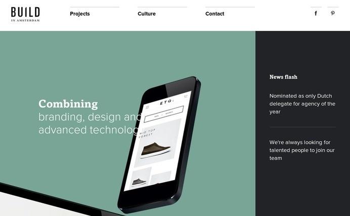 Build in Amsterdam #website #web #minimal