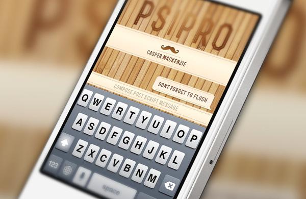 Post Script Pro   iOS Interface Design #apple #ux #application #interface #app #ios