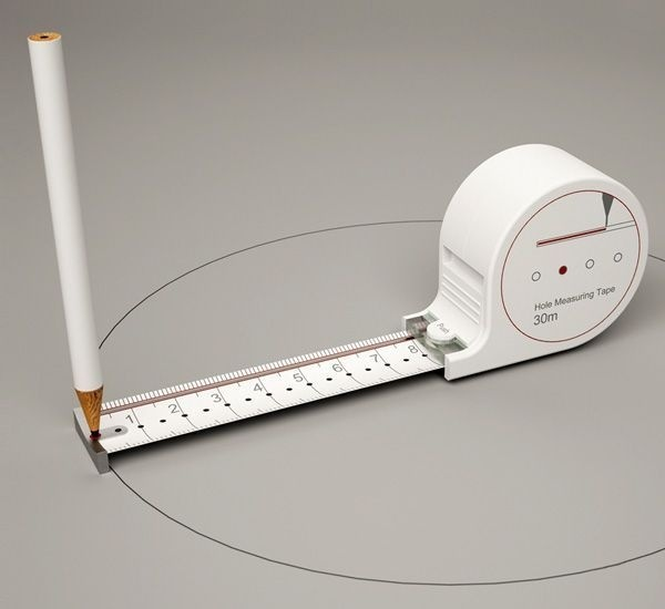 Measuring tape with holes #office supplies #measuring tape #measure