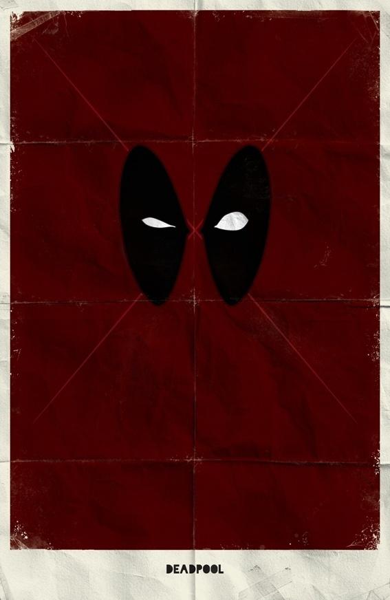 Marvel Minimalist Posters Vol.2 on the Behance Network #comics #marvel #deadpool