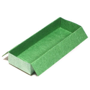 How to make a traditional oblong origami box (http://www.origami-make.org/howto-origami-box.php)