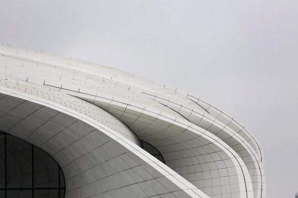 CJWHO ™ (zaha hadid | heydar aliyev cultural center shapes...) #white #cultural #center #hadid #design #zaha #azerbaijan #architecture