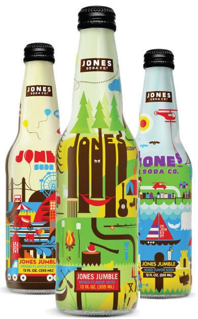 jones jumble #bottle