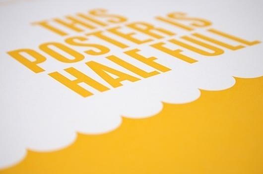 Because Studio — Design & Art Direction/Optimism/Pessimism #because #design #graphic #studio #poster