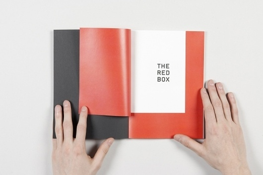 VALENTIN PAUWELS | the red box #swiss #red #design #graphic #book #experimental #pauwels #the #box #webcam #valentin