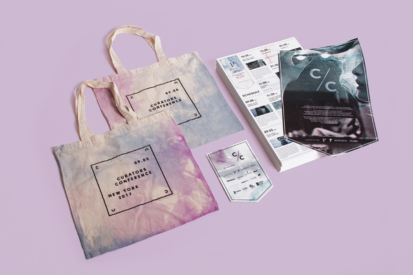 Curators Conference Branding Identity   RoAndCo Studio #branding