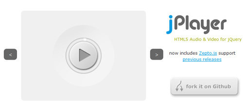 Top 5 jQuery HTML5 Audio and Video Player #video #jquery #javascript