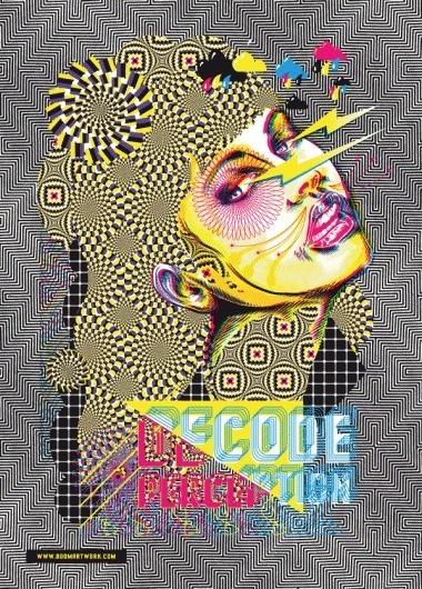 Graphic Design Festival • BoomArtwork - Illustration & Design - Eric van den Boom #boom #van #design #eric #illustration #poster #den