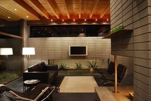 Silvertree Residence in Arizona by Secrest Architecture   Design Milk #concrete #arizona #living #secrest #glass #architecture
