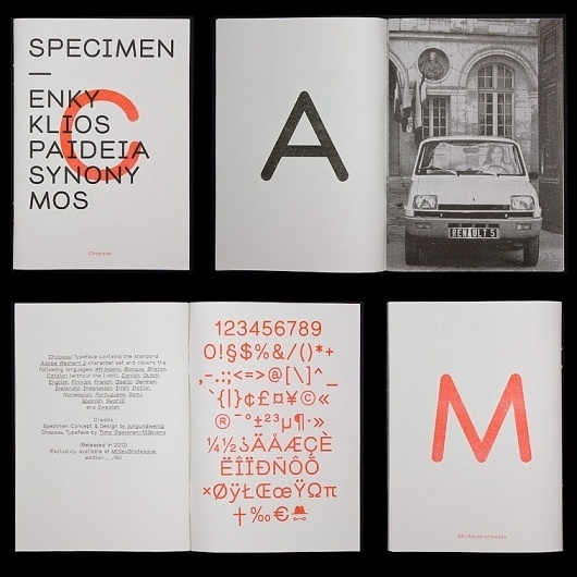 typetoken® | Showcasing & discussing the world of typography, icons and visual language / Bench.li #print #typography