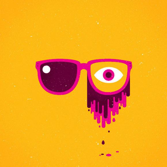 Richard Perez_web14 #eye #illustration #sunglass