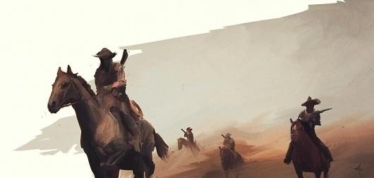 artill blog #redemption #red #cowboys #edgar #artill #dead