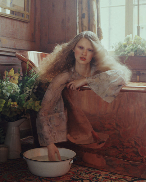 Sophie Hirschfelder, Gemma Steele, Aline Petrychenko #model #girl #campaign #photography #portrait #fashion #editorial #beauty