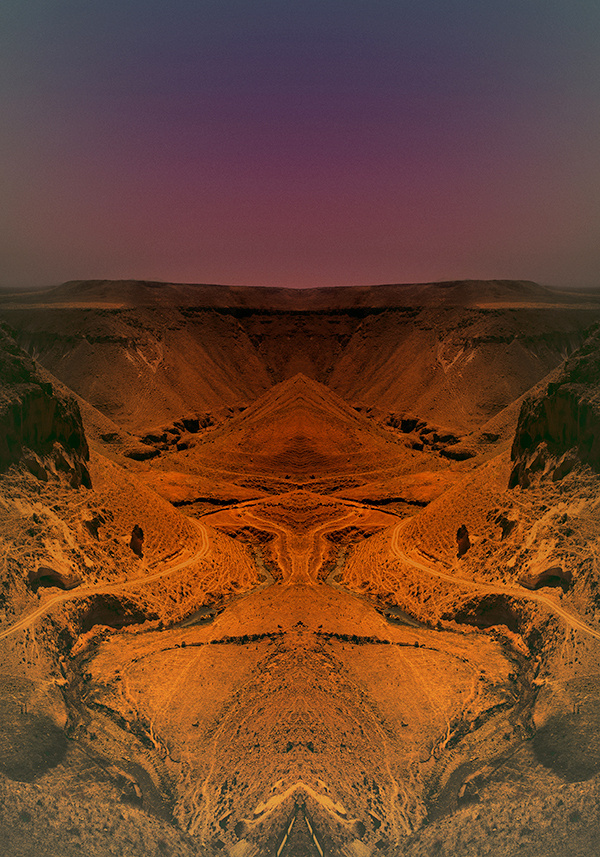Limited Edition Art Works by Pale Grain #limited #temple #edition #hill #print #landscape #mirror #dry #river