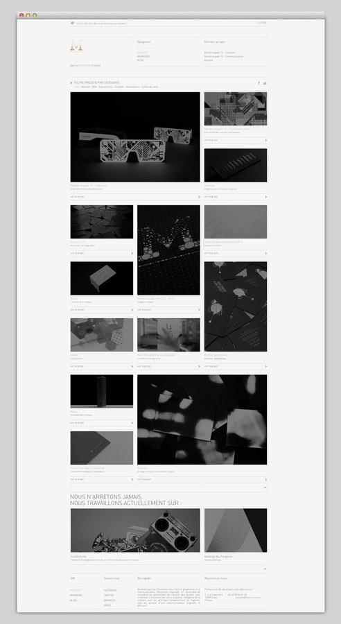 Murmure #design #website #grid #studio #layout #web
