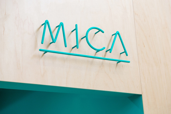 MICA on Behance #metal #logo #mica #savvy