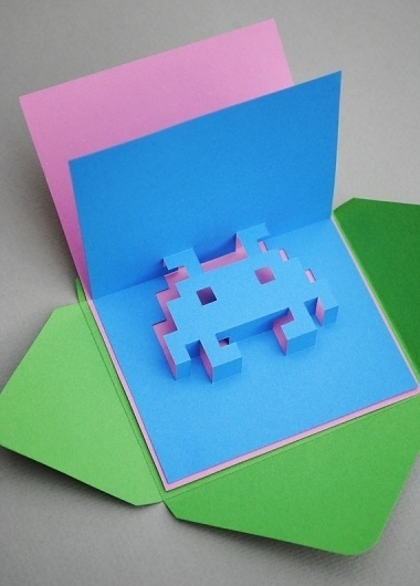 (19) Federica Cavalli / Pinterest #greeting #popup #card