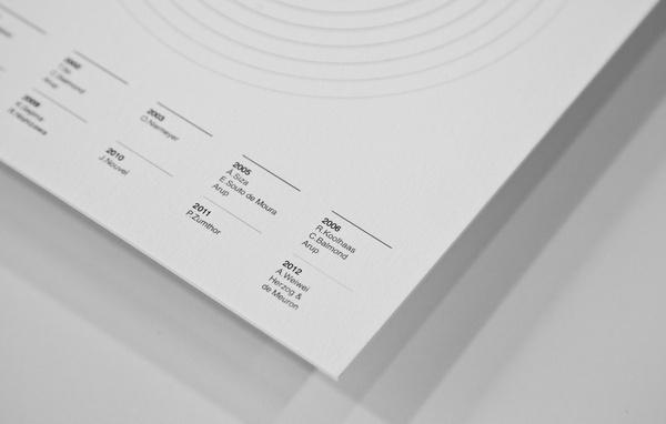 Serpentine Pavilion Invitation on the Behance Network #information #invitation #infographic #print #design #graphic #minimal