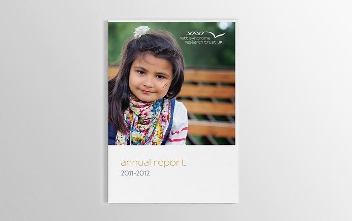 Reverse Rett Annual Report #design #annualreport #brochure #print #cover