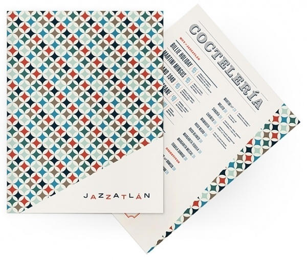 Art of the Menu: Jazzatlán #jazz #menu