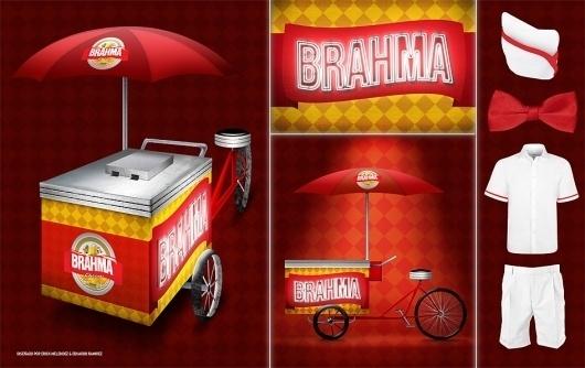 eduardorh » BRAHMA #beer #promotional #brahma #cart