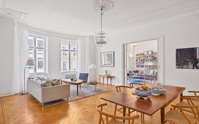 Truly Dream Apartment in Stockholm #interior #apartment #design