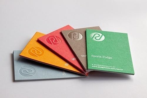 Generation Press » Podge: Stationery Set #card #deboss #business #foil