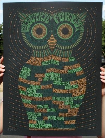 electric-forest-poster-todd-slater.jpg 457×599 pixels #design #poster #typography