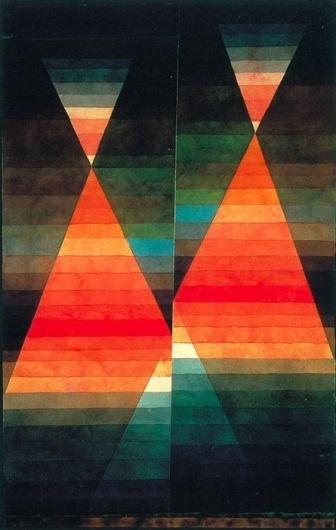 Tumblr #geometry #klee #double #painting #tent #paul