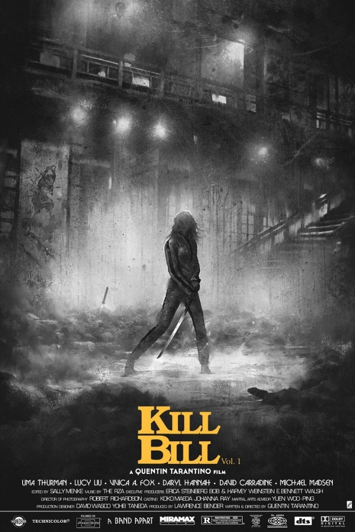 Kill Bill Vol: 1 Alternative Movie Poster