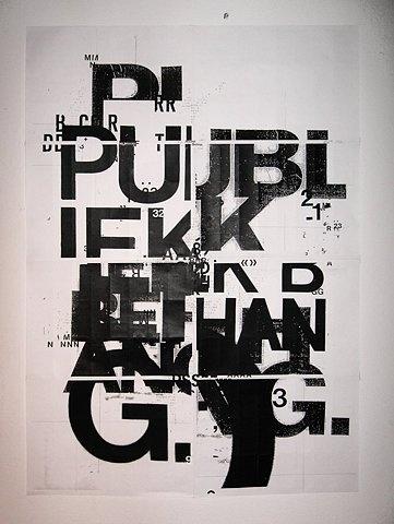 FFFFOUND! | Public space poster 2 by ~patswerk on deviantART #screen #print