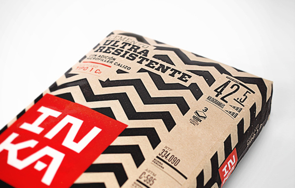 Crit* Inka Cement The Dieline #cement