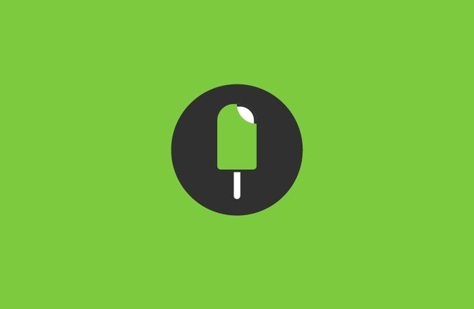 Quipu #ice cream #logo
