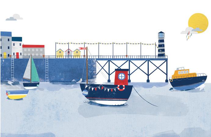 RNLI - Packaging - Vicki Turner #illustration