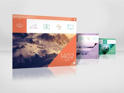 SJQHUB™ Visual Data Collection UI dashboard #ux #interface #clean #ui #illustration #studio #studiojq #layout