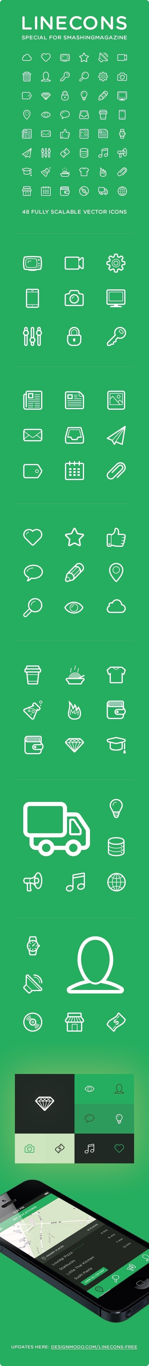 Linecons #logo #vector #icons