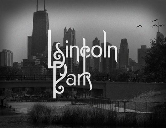 Design Crush » The Chicago Neighborhoods #typography